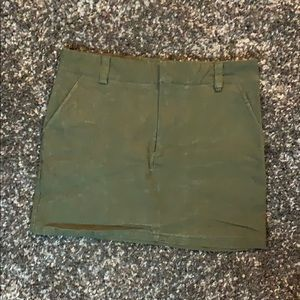 Mini Green Denim Shirt